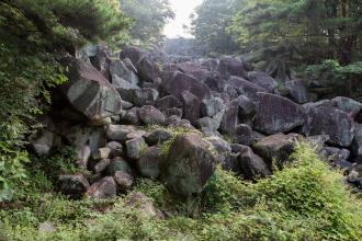 천연기념물제528호_밀양만어산암괴류